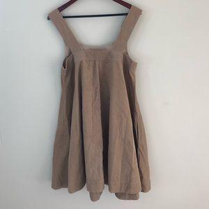 81bec72c39d Old Navy Dresses - Corduroy overall dress camel color Sz M